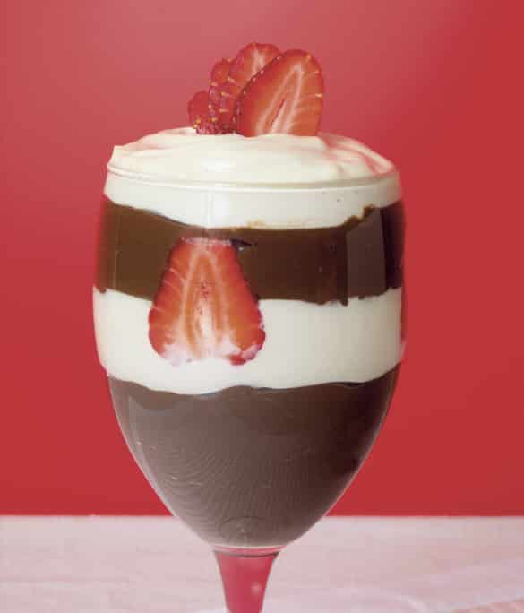 Raw Chocolate Mousse Parfait