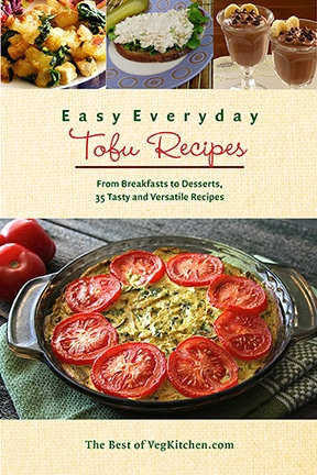 Easy Everyday Tofu Recipes e-book cover