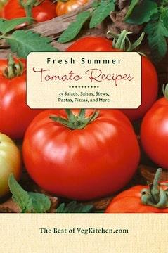 Fresh summer tomatoes e-book