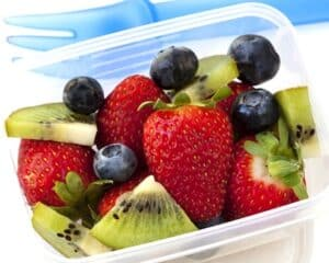 Lunch box fruit salad