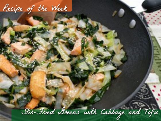 Stir-fried-greens-with-cabbage