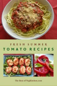 Fresh summer tomatoes e-book cover