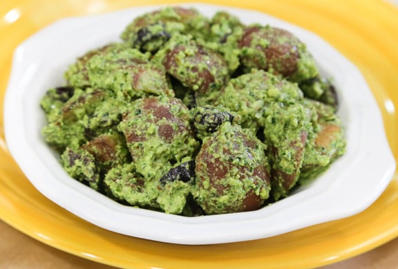 Pesto Potatoes 1