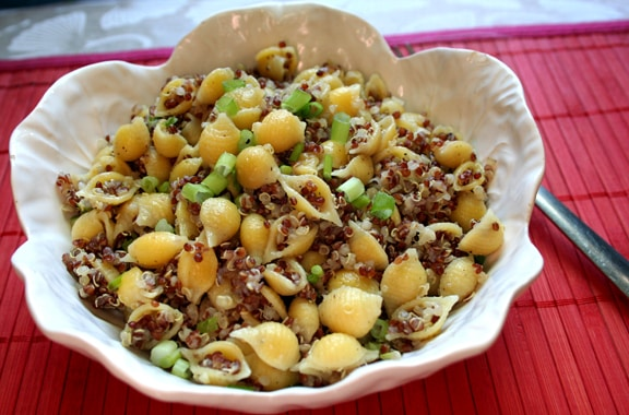 Seashell pasta with quinoa2