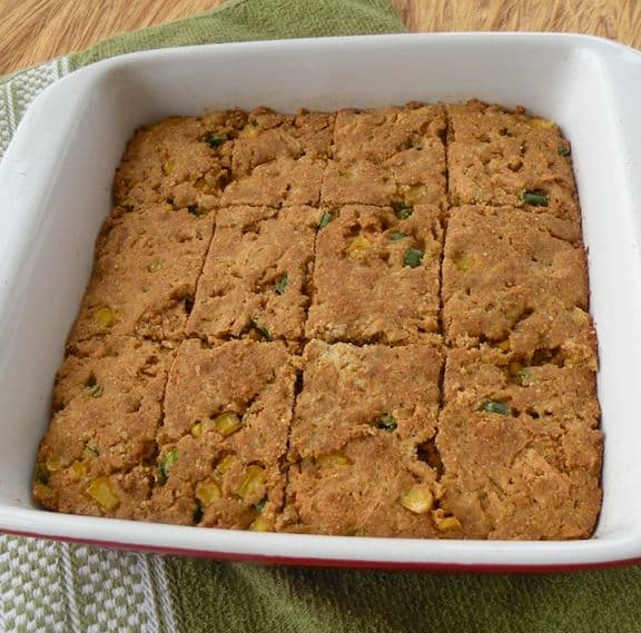 vegan green chile cornbread recipe