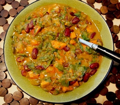African-Inspired Peanut Stew