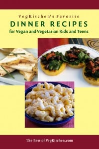 Vegan and Vegetarian Kid's Dinner recipes e-book