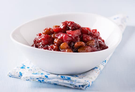 Apple Cranberry Chutney