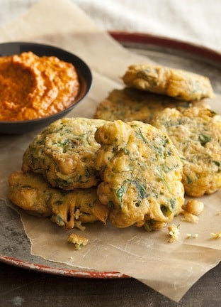 Big Vegan Spanish Chickpea Fritters