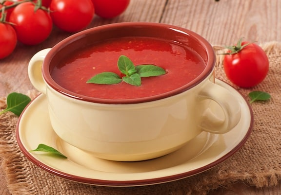 cold fresh tomato soup recipe