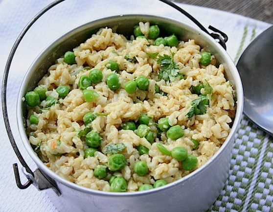 Ginger Coconut Rice Pilaf