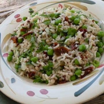 Italian-Style Rice and peas