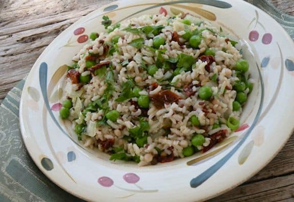 Italian-Style Rice and peas