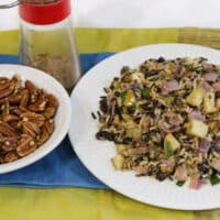 Wild Rice Pilaf with Apples and Pecans