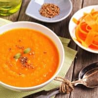 Carrot, Orange and Ginger soup recipe