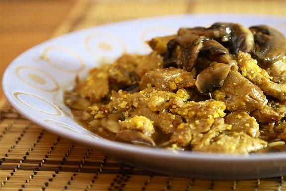 Cornmeal-Crusted Seitan