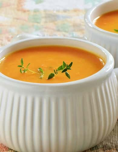 Orange Vegetable Soup