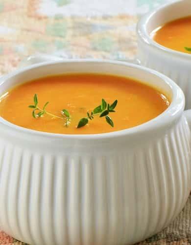 Orange Vegetable Soup