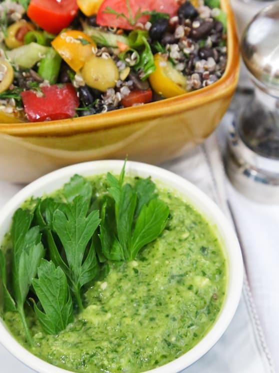 Parsley Salad Dressing recipe