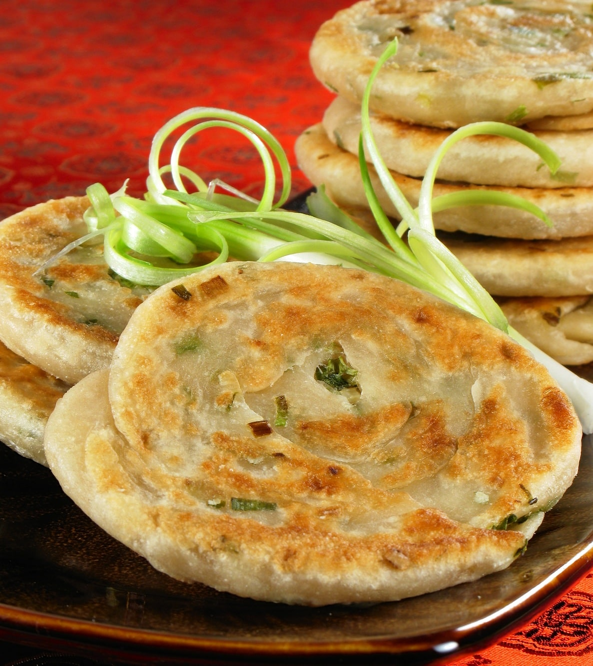 Scallion Pancakes Recipes — Dishmaps