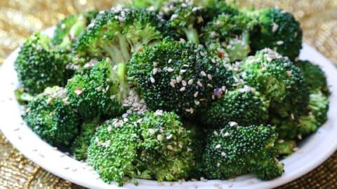 Simple sesame broccoli3