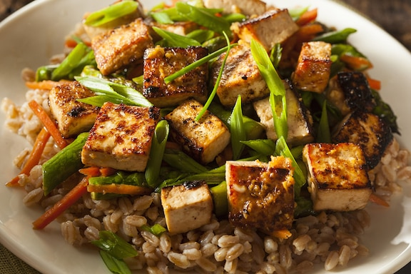 Sweet and Savory Sautéed Tofu