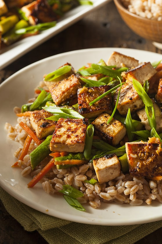 Sweet and Savory Sautéed Tofu recipe