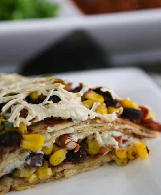 Cazuela de tortilla súper fácil