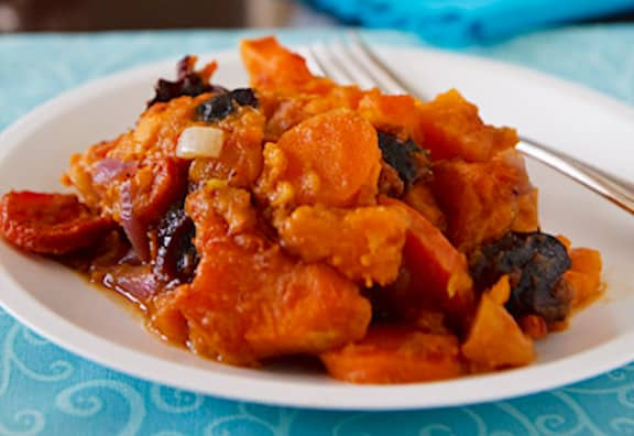 Sweet potato tzimmes recipe