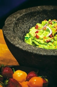 Strawberry Guacamole with Habanero
