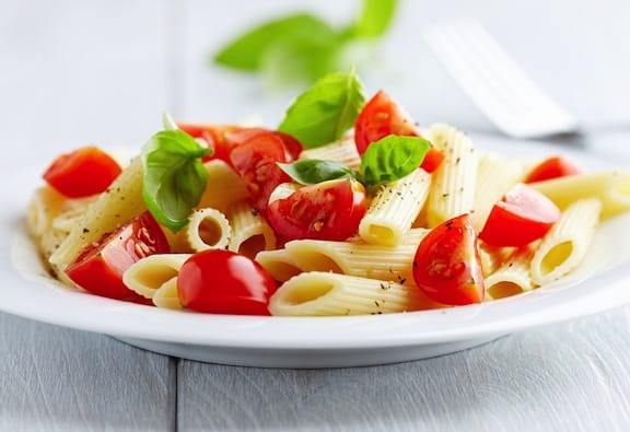 Fresh summer tomato recipes pdf e book vegkitchen pasta with fresh tomatoes and basil forumfinder Images