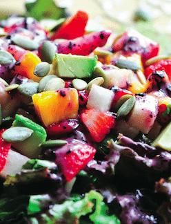 Strawberry Mango Salad Susan Powers