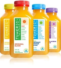 tumeric beverages and elixirs