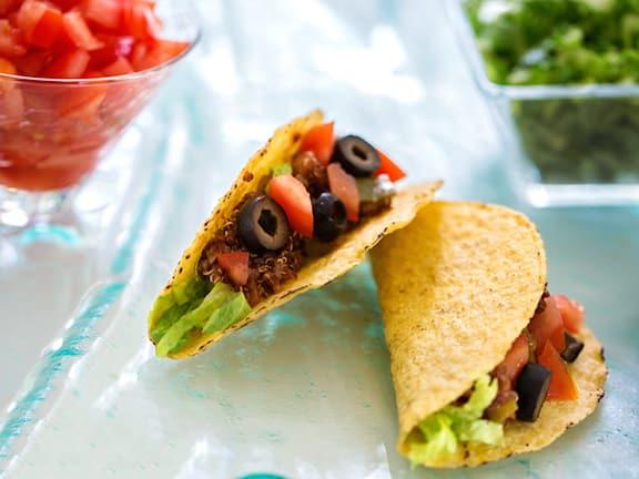 Quinoa tacos