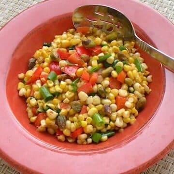 skillet roasted corn