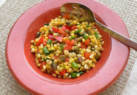 skillet roasted corn