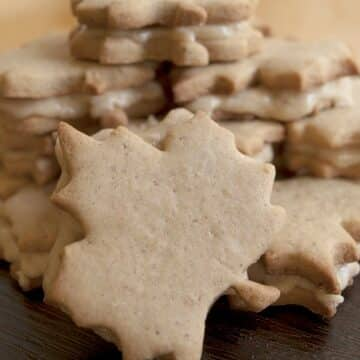 Maple Cream filled gluten-free Cookies