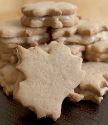 Maple Cream filled gluten-free Cookies