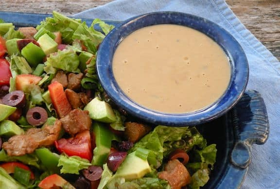 Hearty Seitan Salad