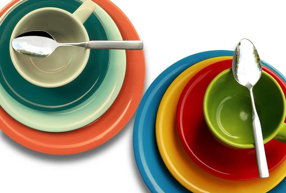 Believe it or not the size and color of your plates have a lot to do with portion control. Most of us really do eat with our eyes so to speak.  sc 1 st  VegKitchen & How the size of dinner plates affect portion control