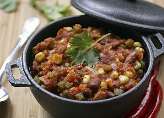 Classic vegetarian chili recipe