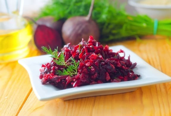 Beet and red cabbage slaw recipe