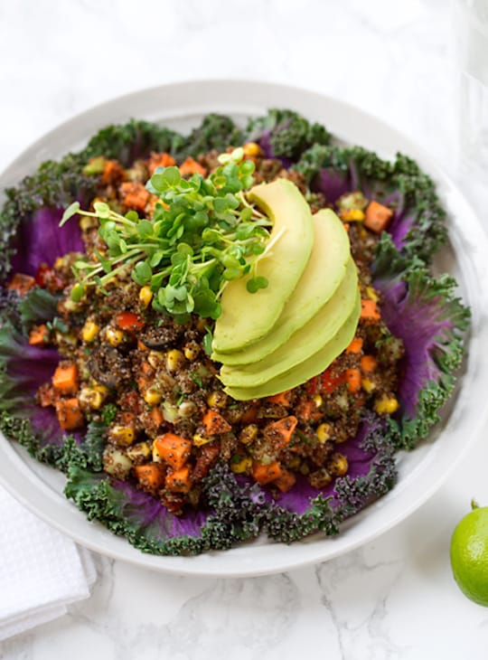 Kañiwa confetti salad recipe