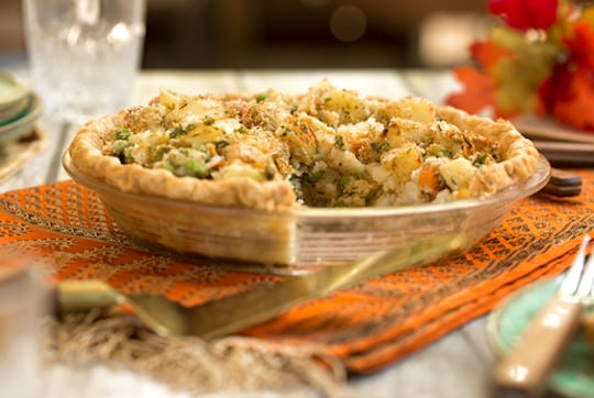 Vegan vegetable pot pie recipe