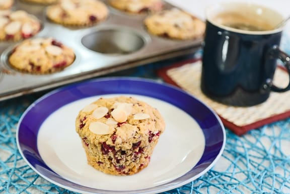 Vegan Orange Cranberry Muffins recipe