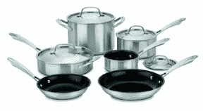 stainless steel cuisinart cookware