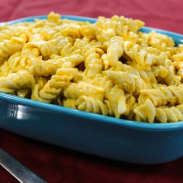 vegan macaroni & cheese