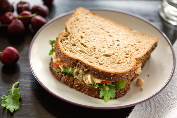 Sharon's chickpea salad or sandwich spread reicipe