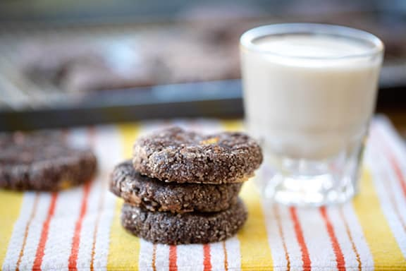 Black bean chocolate chip cookies