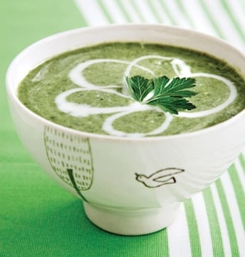 Cream of Greens Soup